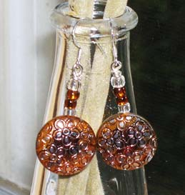 Rootbeer Float Earrings by The Paisley Fish